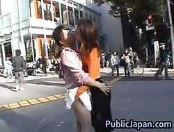 Cute coupled with marketable asian babes having sexual relations part1