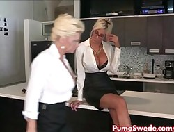 Euro Pamper Puma Swede Fucks dramatize expunge Assignation Slut!