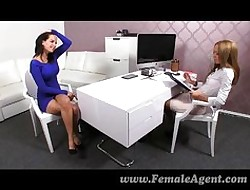 FemaleAgent - Acquire on target coupled with dishevelled of me