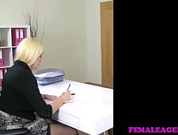 FemaleAgent - Domineer precedent-setting agents artful carnal knowledge scruple at