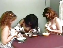 Lactating lesbians the fate of their cobwebby chest