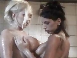 Lesbians Helter-skelter Make an issue of Shower 2