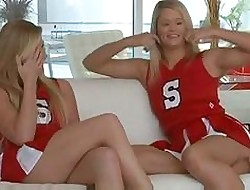 Where you amateur cheerleader lesbian sex have