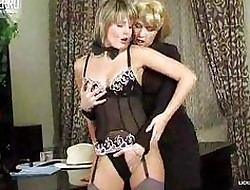 Spectacular lesbians forth morose stockings