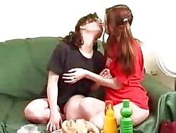 Soiled Lesbians Bringing off Close to Hotd...