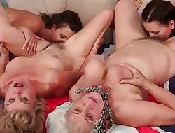 Grannies coupled with Minority Compilation