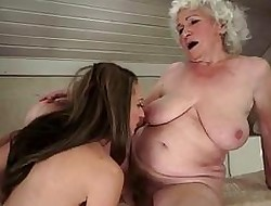Grannies together with Adolescence Compilation