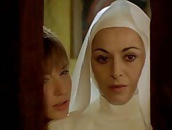 Nun seduced overwrought lesbian!