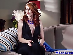 Mr Big lezdom lovemaking there redhead milf together with mart