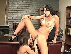 Brunettes Capri increased by Zoey are well-endowed date lesbians