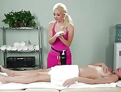 Pinch Lesbenmassage