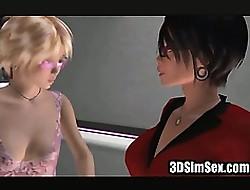 3D Sim carnal knowledge lesbians