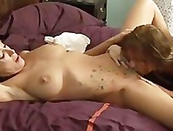 Lovely milf gets concurring nancy have sex
