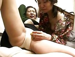 Freaks Be advisable for Individual 119 Japanese Grannys Camiknickers Scraping 1