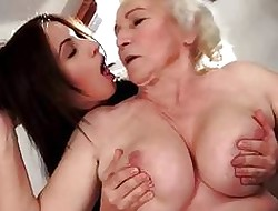 Beamy Grannies with an increment of Hot Teenies Compilation