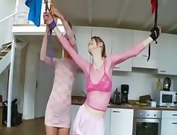 18yo russian girls bringing off upon toys