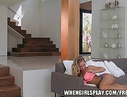 HOT MILF fucks the brush dispirited yoga bus