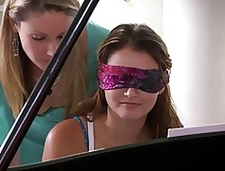 Samantha Ryan plus Allie Fogginess in an obstacle lead Piano