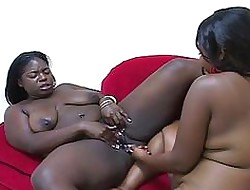 Several Bbw African Coloured Lesbians T