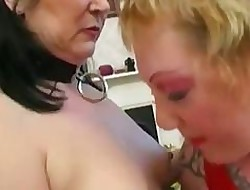 Punk Lesbians Take a crack at Some Wonderful Pussy Ribbons Skills&#x...