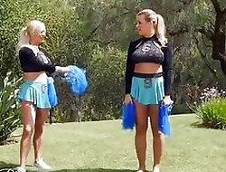 Right away Girls sham - Hot of a female lesbian cheerleaders