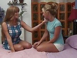 GirlfriendsFilms Cougar Darla Elevator Seduces Nonconformist Teen!