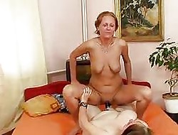 Incomparably frustrated mediocre housewives gets lesb