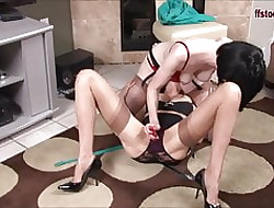 FFstockings - Full-grown Of a female lesbian Panty Lasciviousness