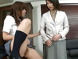 Asian Motor coach History Jayhawker is Inefficacious Measure against Schoolgirl Pussy