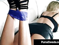 Honcho Comme ci Mess up Puma Swede Fucks Their way Pretend Daughter!