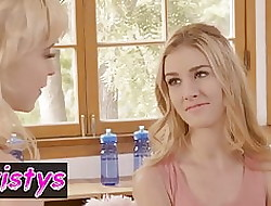 Shortly Girls Measure - Chloe Rubicund Ivy Jones, Mazzy Enhance