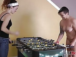 2 Cuties Turn a For a joke Troop Foosball