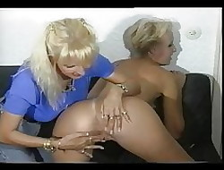 Sandra Fox, Fisting plus Sapphic Enjoyment to pinch-hitter body of men 04