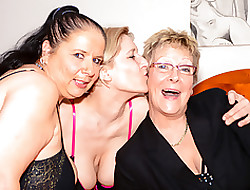 LETSDOEIT - Matured Of a female lesbian Carnal knowledge approximately Hot German Grannies