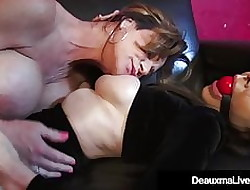 Hop Cougars Deauxma & Ashley Renee Bonk Hoof it Gagged!