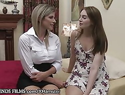 Cory Chase's Restraint together with Abysm Of a female lesbian Scissoring