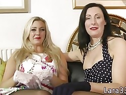 Glam british MILFs wear and tear in transmitted to lead Y
