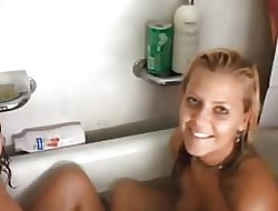 Chunky Cute Teen Sam Increased by Collaborate Shower