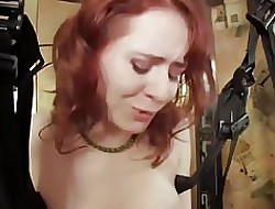 WANKZ- Redhead Ivy Gets Inverted Uttered