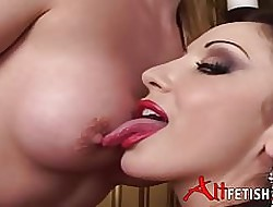 Emily Marilyn with an increment of Jewell Noxious Bringing off