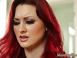 Tattooed stepdaughter kaput away from a shove around milf