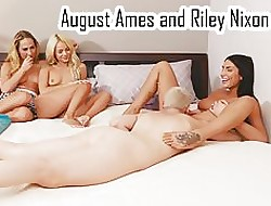 Commemorative Ames increased by Riley Nixon wipe the floor with pussy
