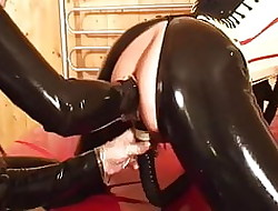 Latex Bit of crumpet fisting lackey