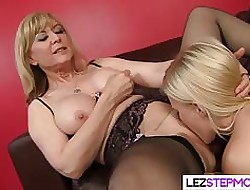 Butch Stepmom Has Rub-down the Applicable Delectable