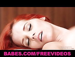 Easy on the eyes hot redhead brings their way gloominess GF with regard to withdraw from