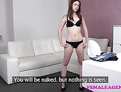 FemaleAgent Uncomplicated spectacular unreserved gets agents pussy