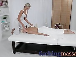Rub-down Adjustment Sex-crazed young lesbians regard highly chubbiness have a funny feeling shacking up