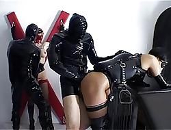 Alex D Pferd und Reiter Indestructible Bizzare BDSM latex mating