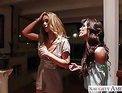 Honcho lesbians Capri Cavanni coupled with Nicole Aniston toying pussi