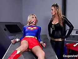Serfdom & roleplay all over three prex hot blondes